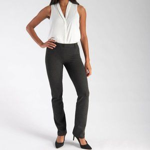 Betabrand Straight-Leg Classic Dress Yoga Pants